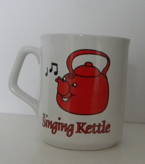 The Singing Kettle mug