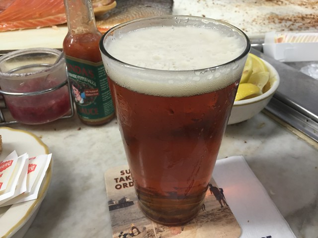 Anchor Steam draft beer - Swan Oyster Depot