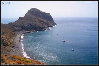 Playa y Roque de Antequera