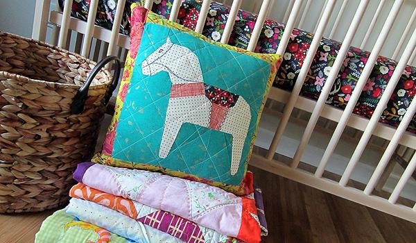 Dala Horse pillow