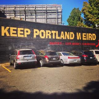 Keep Portland Weird mural