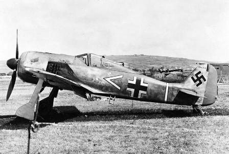 EL FW 190 de Armin Faber capturado