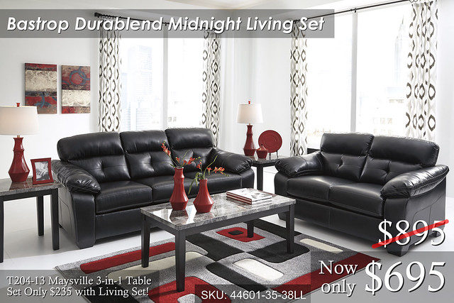 44601-38-35-T204 Bastrop Durablend Midnight -- PRICED