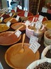 Taste / smell: spices / variety is the ----