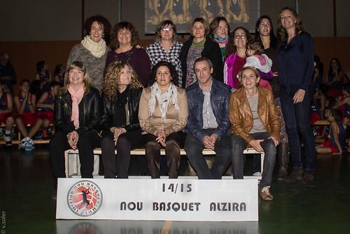 HOMENATGE BASQUET FEMENI PRESENTACIO 2014 2015
