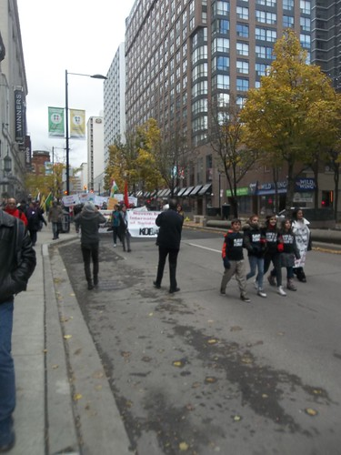 Scenes from the Kurdish protest of ISIS at Yonge and College (1)