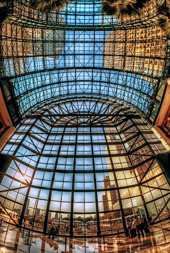 city nyc newyorkcity travel windows roof ny newyork tourism glass architecture canon eos downtown view manhattan wideangle ceiling fisheye wintergarden gothamist westside dslr atrium lowermanhattan touristattraction fisheyelens iloveny uwa ilovenewyork 70d garyburke brookfieldplace klingon65 nycdetails canoneos70d