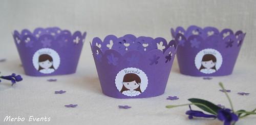 wrappers para cupcakes comunion