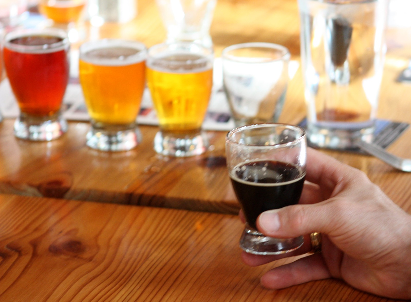 Delicious Beers at the Great Lakes Brewing Co