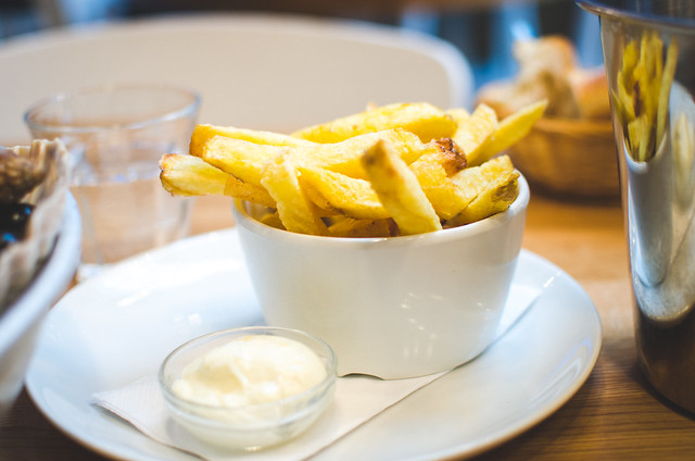 The frites at Seafood Bar in Amsterdam are photogenic but ultimately unnecessary.