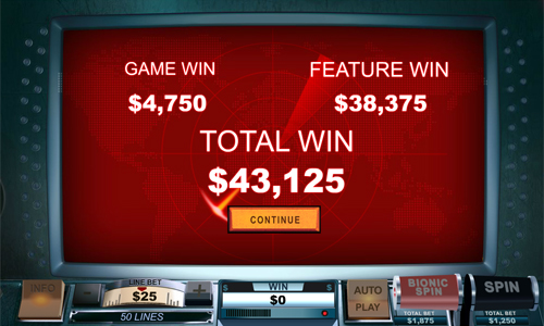 free The Six Million Dollar Man Total Win