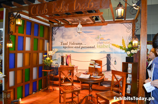 Balai Isabel Exhibit Booth