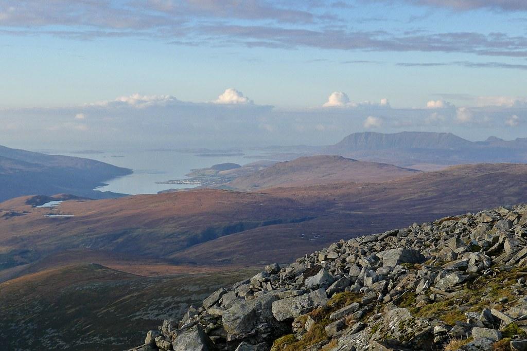 Loch Broom, Ullapool and Coigach from Meall nan Ceapraichean