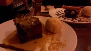 Sticky Date Pudding and Steamed Chocolate Pudding at Yulli's