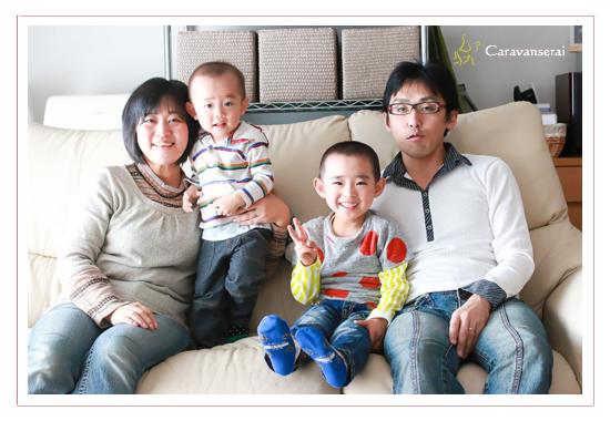 家族写真 ファミリーフォト 自宅 小幡緑地公園 名古屋市守山区 自然 ナチュラル