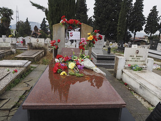 The gravesite of Enver Hoxha
