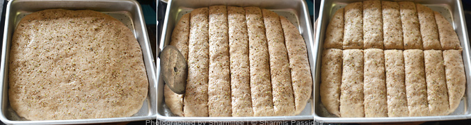 How to make bread sticks - Step3
