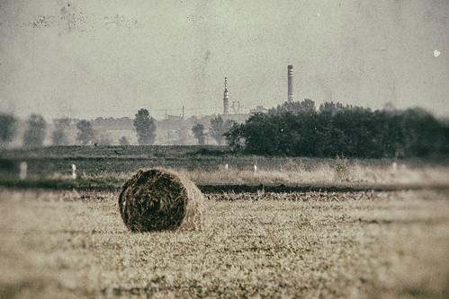 industry field landscape ipar táj mező borsod bála bém
