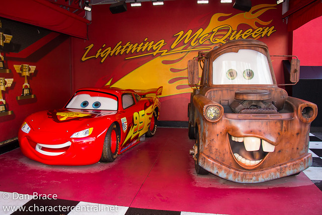 Meeting Mater and McQueen