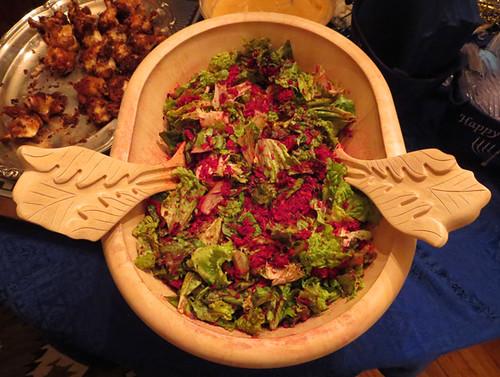 12-21-14-CA-LA-Lyndia's latkethon-borcht salad
