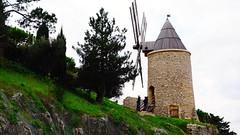 Windmill Allauch Village near Marseille