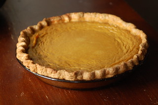 Traditional Pumpkin Pie with Homemade Butter Crust