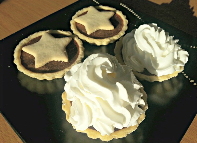 Hot Chocolate Tarts