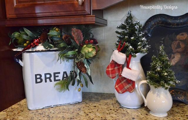 Christmas Kitchen Vignette-Housepitality Designs