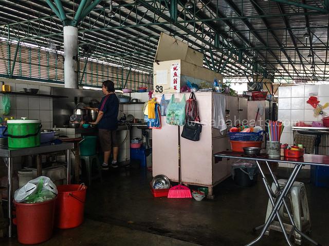 Sandakan central market Food