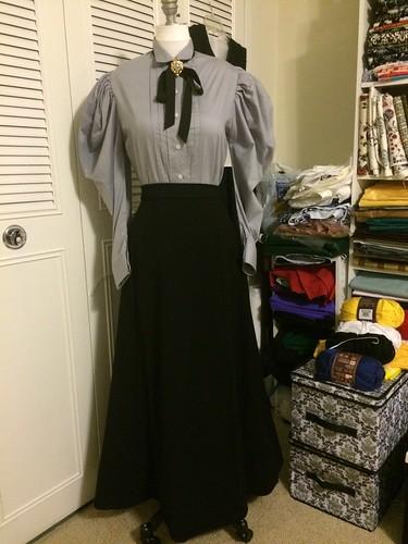 1890s Skirt