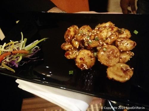 Crispy Fried Waterchestnuts