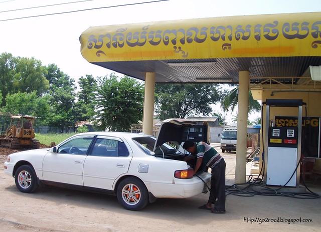 Камбоджийские заправки