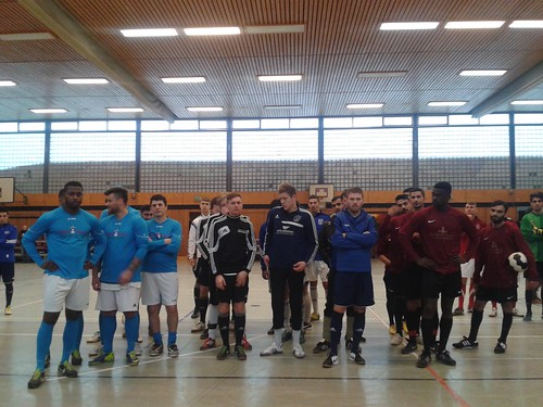 Hallenfußball in Harburg am 4. Advent 2014 beim Musa Cup in der Sporthalle der Schule Quellmoor