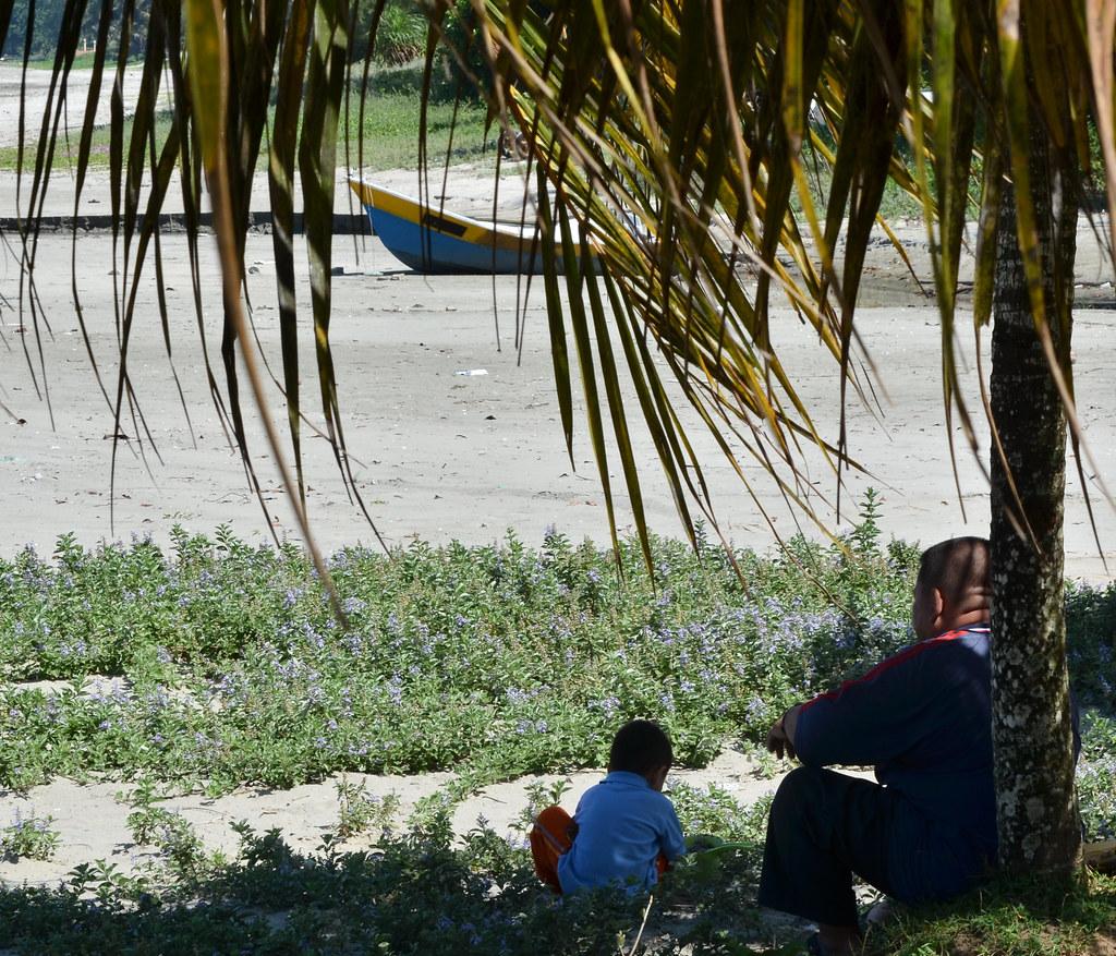黑沙滩 Black Stone Beach