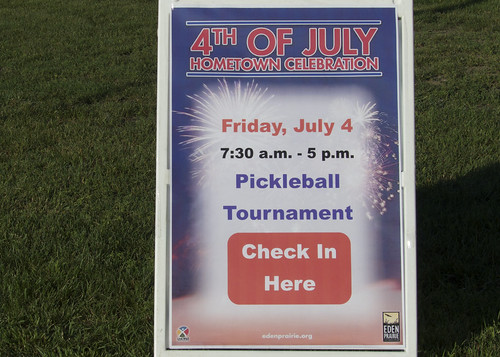 2014 July 4th SW Metro Pickleball Tournament