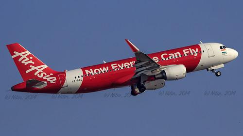 Air Asia A320 VT-RED