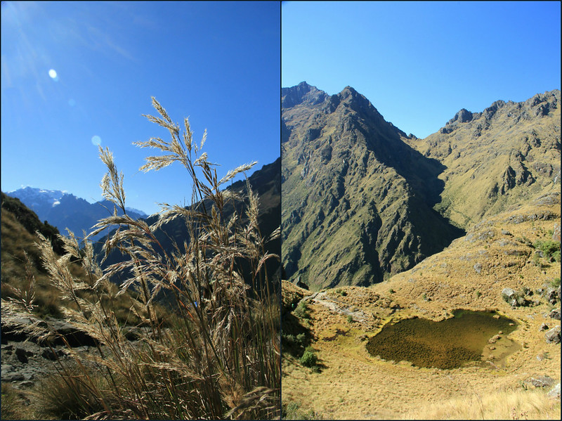 Mountain scenery, Inca Trail