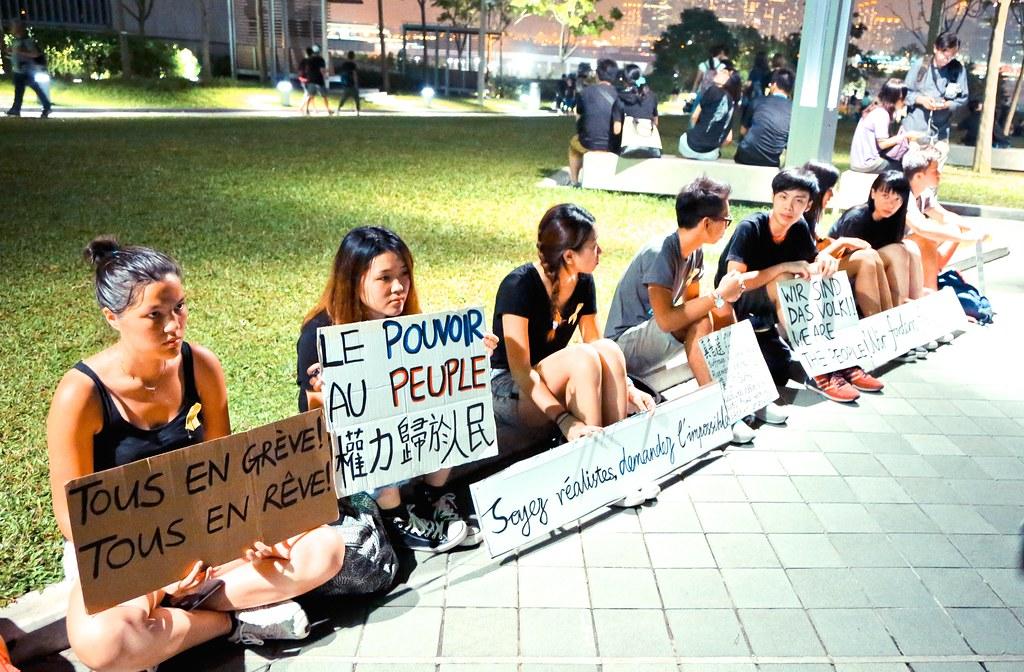 Umbrella movement - 0292