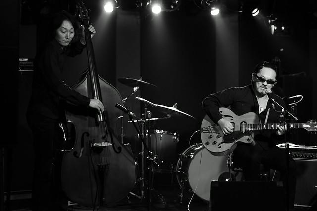 Spider Tetsu & Yoichi live at 獅子王, Tokyo, 05 Jan 2015. 092