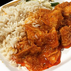 stew, curry, meat, general tso's chicken, food, rice and curry, dish, cuisine,