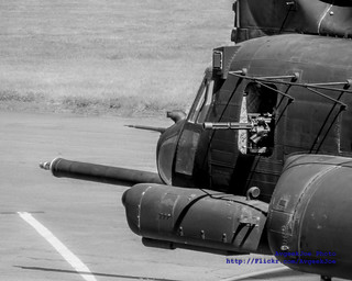 Zoom on a MH-47G Nose