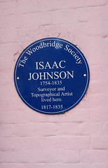 Photo of Isaac Johnson blue plaque