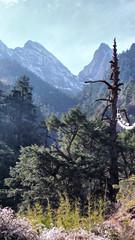 peaks at Chumphu Nye
