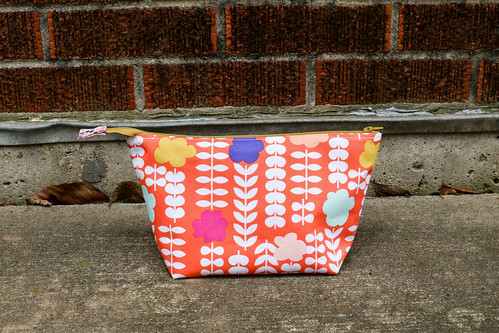 Geometric Bliss Open Wide Pouch