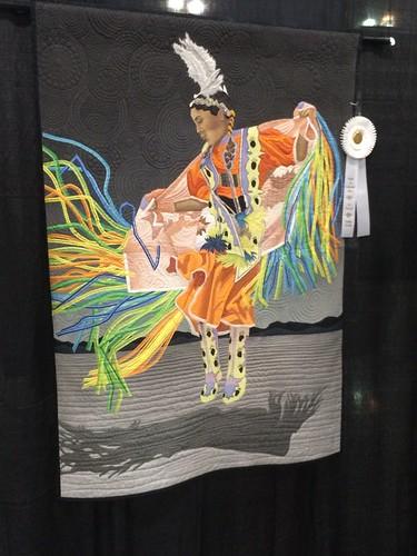 """""""Fancy Shawl Dancer"""" by Linda C. Anderson of La Mesa, CA"""