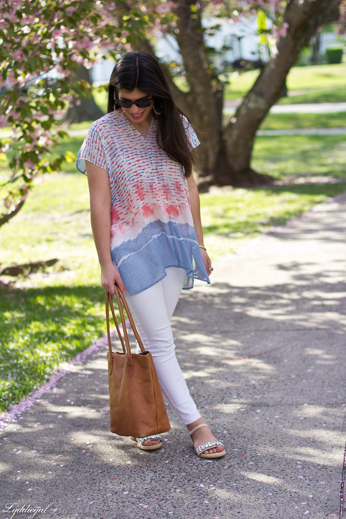 watercolor print tunic, white jeans, espadrilles-1.jpg