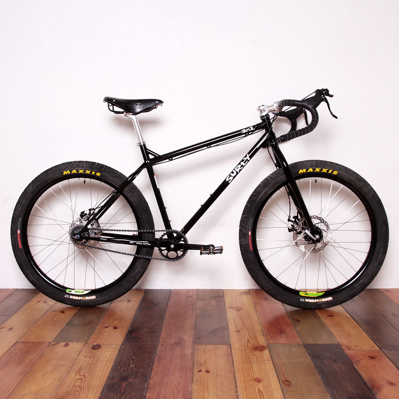 Surly / 1×1 26inch MTB / Alfine 8Speed with Gevenalle Shifter