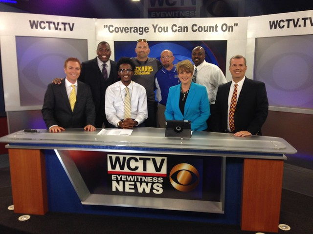 Rickards' BJ Johnson at WCTV