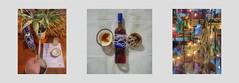 Tapestry Diary 25. 4. Holy Week Orthodox Christians Byzantine Rite / Passover Tapisserie Tagebuch: Pessach / Karwoche 2 orthodoxe Christen byzantinischer Ritus. Liste Vater: Palme giessen, Rum Kokos Netz der Flasche färben mit Anejo + Kokoswasser