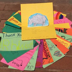 Awww we love hearing from our supporters! These are from some young conservationists in Ms. Beaty's Third Grade class from Hastings, MN.